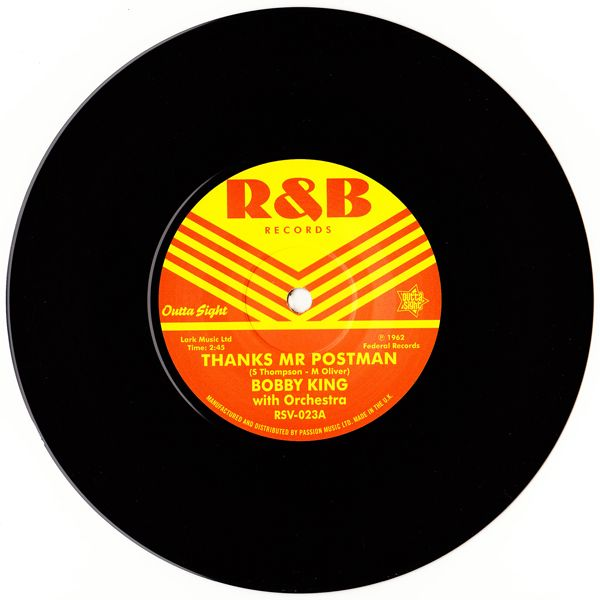 Bobby King / Bobby Guy (3) ‎– Thanks Mr Postman / Good Enough