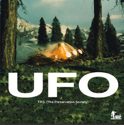 T.P.S. (The Preservation Society) ‎– U.F.O. / Space: 1999 7""