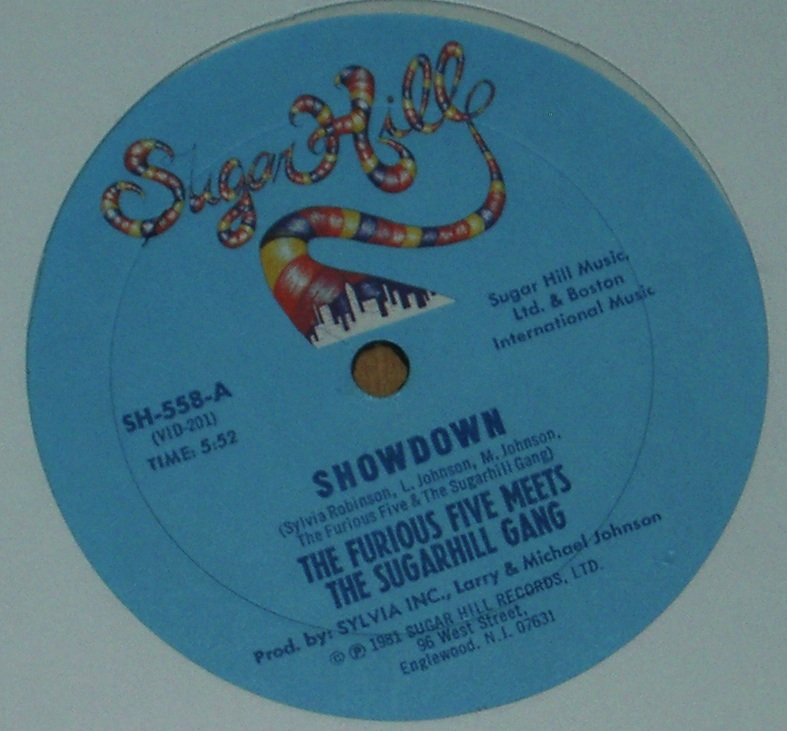 "The Furious Five Meets The Sugarhill Gang - Showdown 12"" Vinyl"