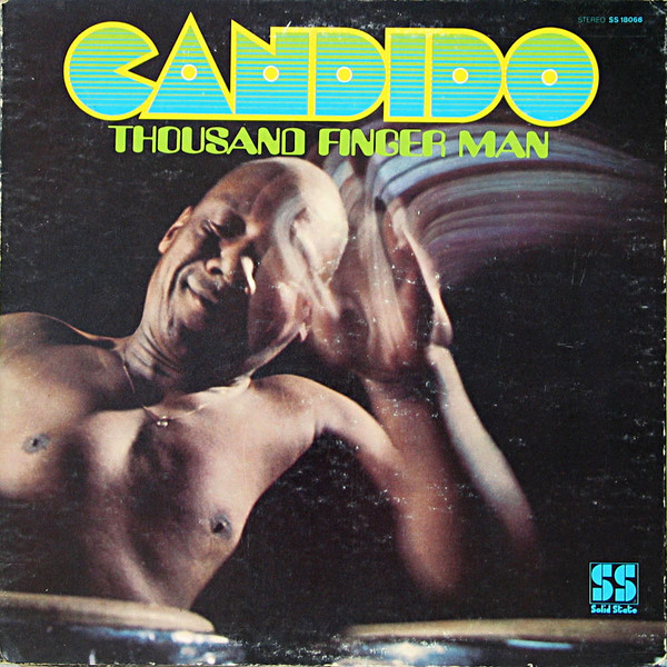 Candido - Thousand Finger Man LP Vinyl