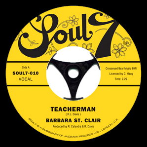 "Barbara Stclair - Teacherman / Jekyll and Hyde 7"" Vinyl"