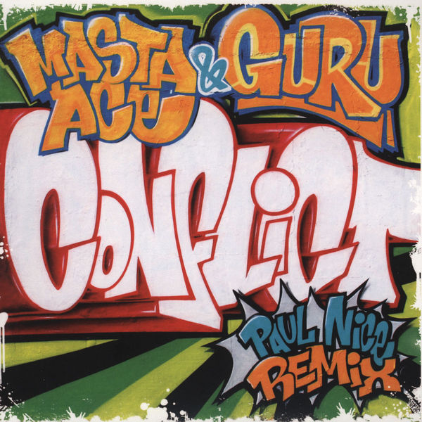 Masta Ace &amp; Guru &ndash; Conflict (Paul Nice Remix) 7&quot; Vinyl