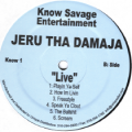 Jeru The Damaja - Live 2LP Vinyl
