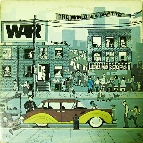 War - The World Is A Ghetto LP Vinyl