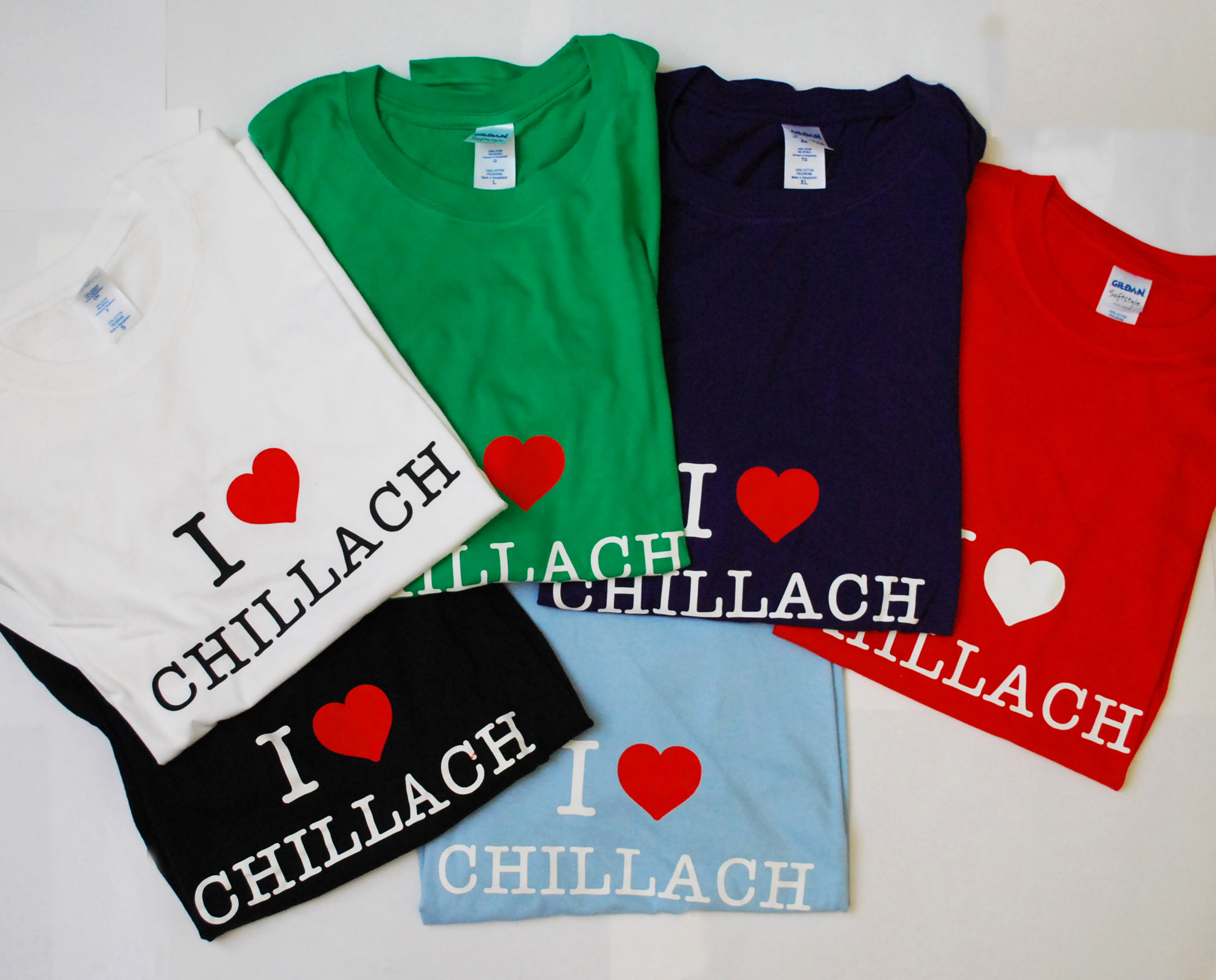 I Love Chillach TSHIRT